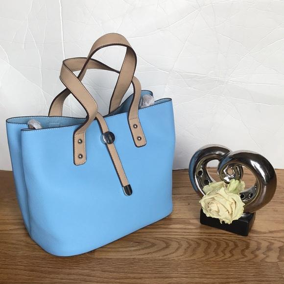 Charming Charlie light blue purse